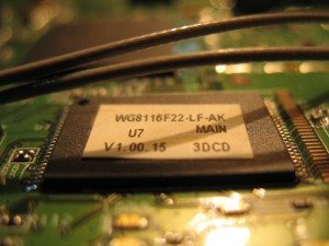Flash memory of Belkin F6D6230